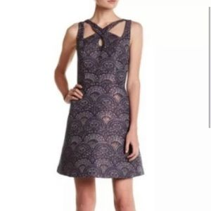 NWOT CeCe by Cynthia Steffe Brocade Dress 0